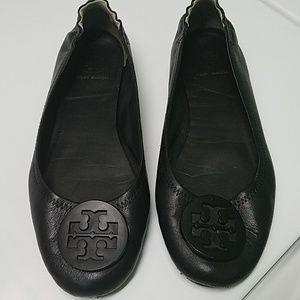 Tory Burch Ballet Flats Black